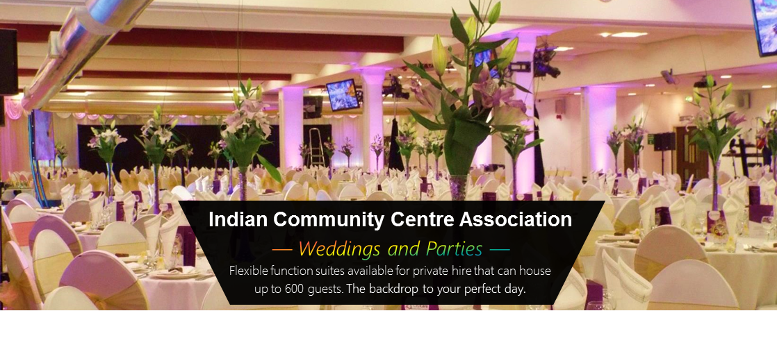 Weddings and Parties at the ICCA Atrium